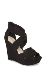 39dc08e642df Chinese Laundry Milani Platform Wedge Sandal Black