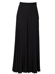 Givenchy Pleated Maxi Skirt Black