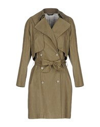 Tonello Overcoats Military Green
