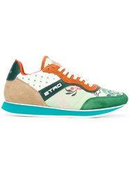 Etro Panelled Sneakers