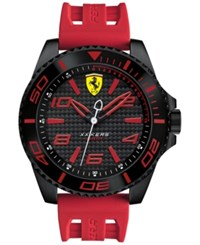 Scuderia Ferrari Men's Xx Kers Red Silicone Strap Watch 50Mm 830308