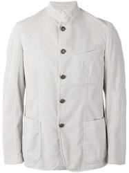Massimo Alba Buttoned Jacket Men Cotton Viscose 52 Nude Neutrals