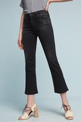 Anthropologie Ag Jodi High Rise Kick Flare Jeans Black