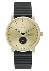 Triwa Ray Falken Watch Black Classic