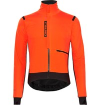 Castelli Alpha Ross Gore Windstopper Jacket Orange