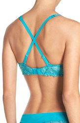 Chantelle Women's Intimates Champs Elysees Underwire T Shirt Bra Peacock