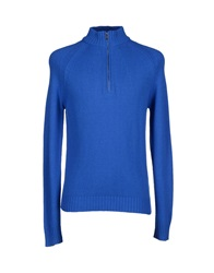 Bikkembergs Turtlenecks Blue