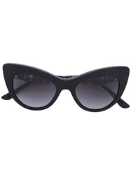 Dolce And Gabbana Lace Flowers Sunglasses Women Acetate 50 Black
