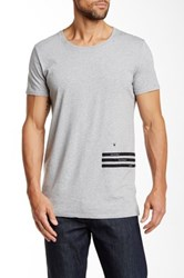 Junk De Luxe Statement Tee Gray