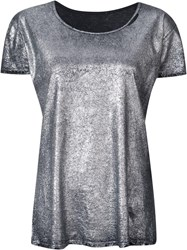 Rta Metallic Grey T Shirt