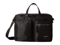 Diesel Beat The Box Crash Briefcase Black Black Briefcase Bags