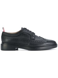 Thom Browne Classic Longwing Brogues Black