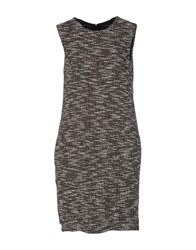 New York Industrie Short Dresses Cocoa