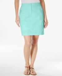 Karen Scott Solid Skort Only At Macy's