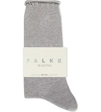Falke Seasons Cotton Ankle Socks 3399 Grey Mix