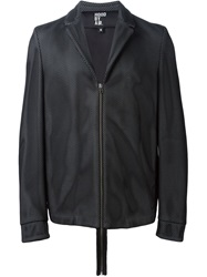 Hood By Air Mesh Zipped Jacket Black