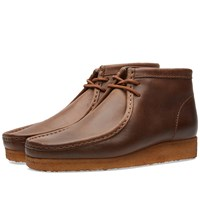 Clarks Originals X Horween Leather Co. Wallabee Boot Brown