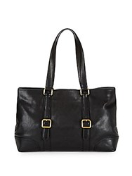 Frye Claude Leather Tote Black