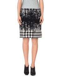 Piazza Sempione Knee Length Skirts Black