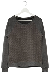 Mbym Veva Sweatshirt Charcoal Anthracite