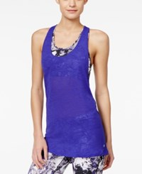 Ideology Layered Low Impact Sports Bra Tank Top Only At Macy's