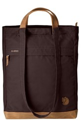 Fjall Raven Fjallraven Totepack No.2 Water Resistant Tote Brown Hickory Brown