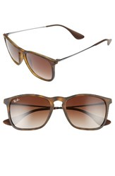 Ray Ban Men's Chris 54Mm Gradient Lens Sunglasses Gradient Brown