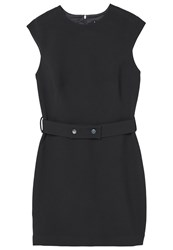 Mango Detachable Belt Dress Black