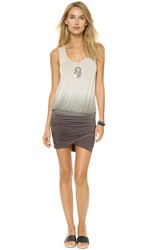 Young Fabulous And Broke Elize Dress Grey Ombre