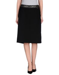 Roccobarocco Skirts Knee Length Skirts Women Black