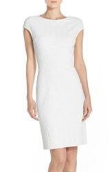 Women's Julia Jordan Jacquard Sheath Dress
