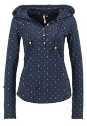 Ragwear Long Sleeved Top Navy Dark Blue