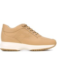 Hogan 'Interactive' Sneakers Nude And Neutrals