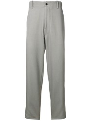Pringle Of Scotland Tapered Fit Trousers Grey