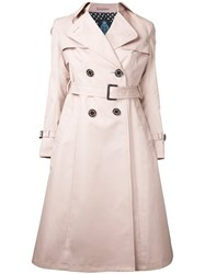 Guild Prime Classic Trench Coat Pink Purple