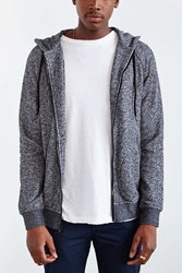 Bdg Speckled Zip Up Hooded Sweatshirt