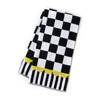 Mackenzie Childs Courtly Check Towel Bath Towel
