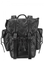 Mens Backpacks Neil Barrett Black Quilted Leather Backpack