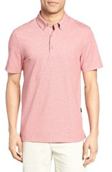 Ag Jeans Men's The Mensa Jersey Polo Rustic Brick