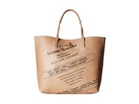 Vivienne Westwood Africa Sell Cheap Leather Shopper Natural