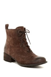 Born Brunilda Suede Lace Boot Brown