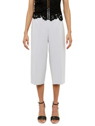 Ted Baker Oderat High Waisted Culottes Light Grey