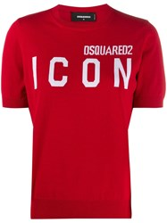 Dsquared2 Icon Knitted Top 60