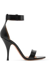 Givenchy Retra Leather Sandals Black