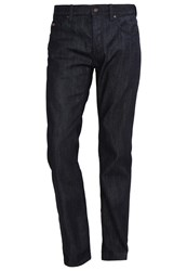 Hugo Boss Green Maine Straight Leg Jeans Blue Dark Blue