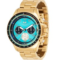 Vestal Zr2 Watch Gold Teal