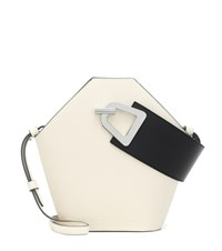 Danse Lente Johnny Leather Tote White