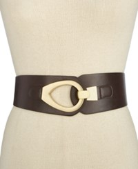 Styleandco. Style Co. Hook Front Stretch Belt Only At Macy's Brown