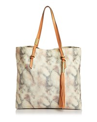 Foley Corinna And Athena Tassel Canvas Tote Candied Peach