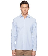 Jack Spade Chambray Spread Collar Shirt Pale Blue